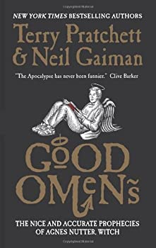 Good Omens: The Nice and Accurate Prophecies of Agnes Nutter, Witch 0060853980 Book Cover