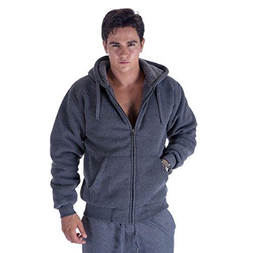 Zip Front Fleece Hoody - 4