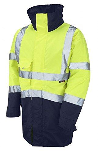 1512 Marwood Superior Vis Leo Navy Two Coat Jacket Tone Yellow Hi Anorak aUqdWdnZx