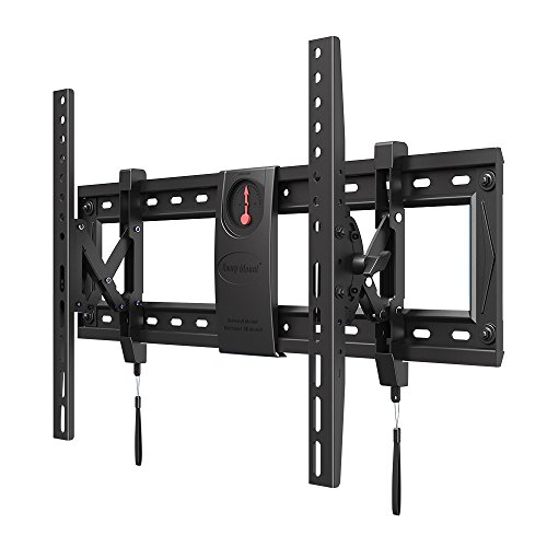 Emmy TV Wall Mount Extended Tilting Heavy Duty Bracket for Most 50-70 Inch TVs up to VESA 600x400mm and 125lbs Loading Capacity C70-T