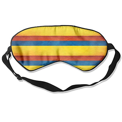 Lead-Do Colombia Flag Map 31 Comfortable Sleeping Masks Blindfold Eye Shade Cover,Super-Smooth