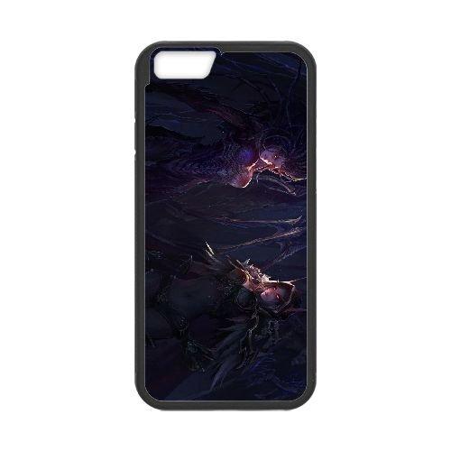 Sylvanas Windrunner coque iPhone 6 Plus 5.5 Inch cellulaire cas coque de téléphone cas téléphone cellulaire noir couvercle EEECBCAAN08533