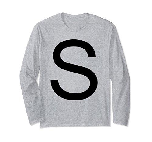 Unisex Salt And Pepper Couple Valentine Day Shirt Long Sleeve XL: Heather Grey