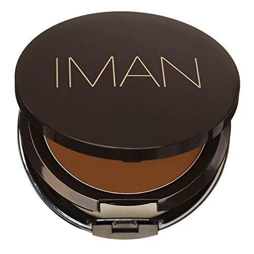 Iman Cosmetics Second to None Cream To Powder Foundation, 5-