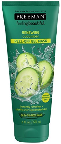 Freeman Cucumber Facial Peel-Off Mask, 6 Ounce