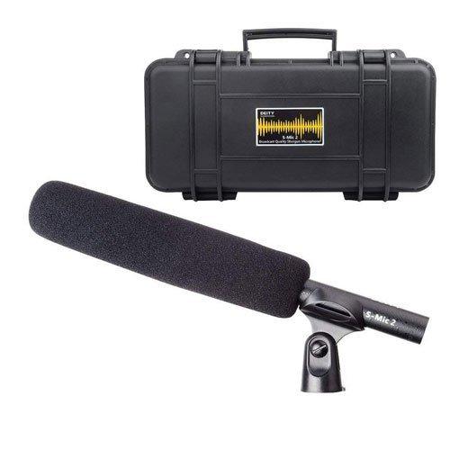 Deity S-Mic 2 Condenser Shotgun Microphone Broadcast Quality by Aputure