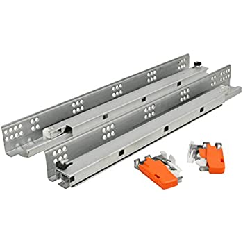 Phenomenal Silverline Sfus 18 Undermount Drawer Slide 75 Lb Soft Closing Full Extension Cabinet Hardware 6 Pairs Complete Home Design Collection Epsylindsey Bellcom