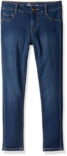 Crazy 8 Big Girls' Basic Jegging Pants, Dark Wash Denim, 5 ()