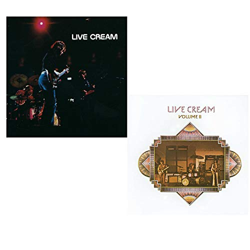 Live Cream Vol.I and Vol.II - Cream Live 2 CD Album Bundling