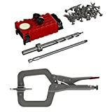 Impakt Portable Pocket Hole Jig & Assembly Clamp Set for Woodworking DIY Projects