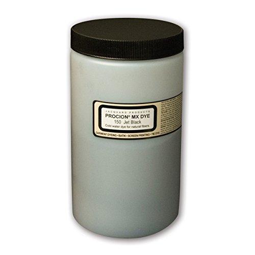 Jacquard Procion MX Dye 1lb Jet Black Procion Fabric Dye