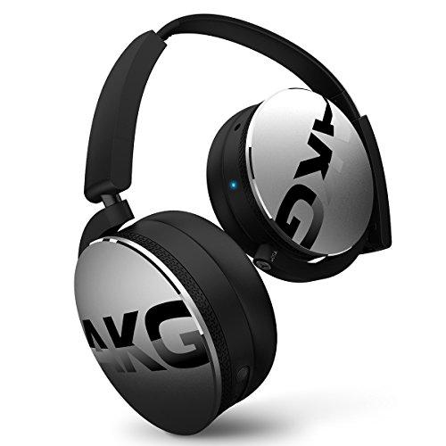 Headphones Headphones Silver (AKG Bluetooth Headphone Silver (Y50BTSLV))