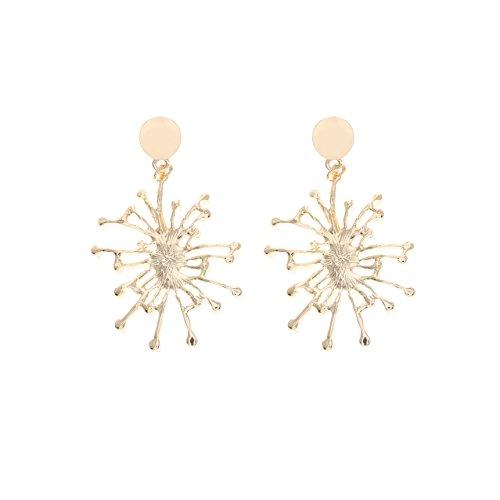 Barogirl Spider Pearl Earrings for Women and Girls YE601