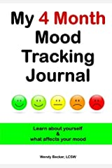 My 4 Month Mood Tracking Journal Paperback