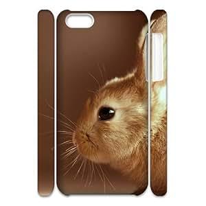 LIULAOSHI Cute Rabbit Phone Case for iphone5c 3D [Pattern-4] by Maris's Diary