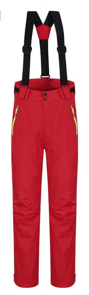 J-SUN-7 Women's Waterproof Mountain Pants Fleece Windproof Ski Pants 6474