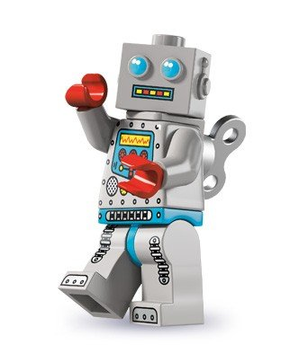 Lego Minifigures Series 6 - Clockwork Robot