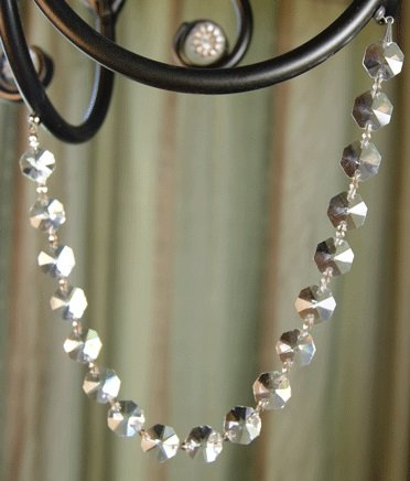 MagTrim Magnetic Crystal Garland by, Octagon Shaped, Each Strand 12