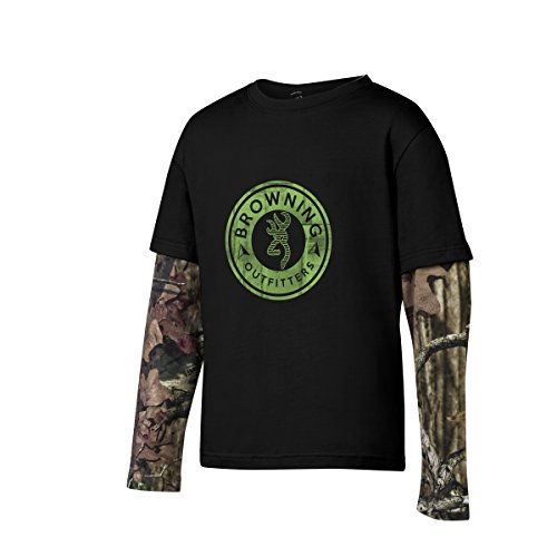 Price comparison product image Browning Boy's Youth Ryder Tee Black (YL)