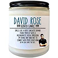 David Rose Schitts Creek Gift Scented Candle Ew David Funny Candle Gift for Her Pop Culture Candle fandom Candle
