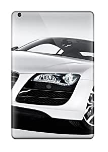 6922350K65615874 Premium Protection White Cars Audi R8 Front Case Cover For Ipad Mini 3- Retail Packaging