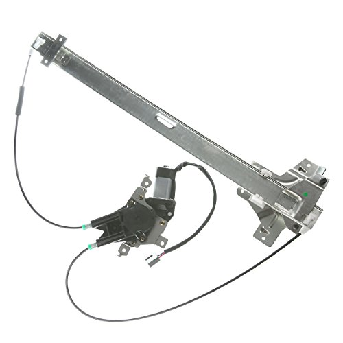 Front Right Passenger Side Power Window Regulator with Motor for Ford E-150 E-250 E-350 Econoline E-350 E-450 Super Duty