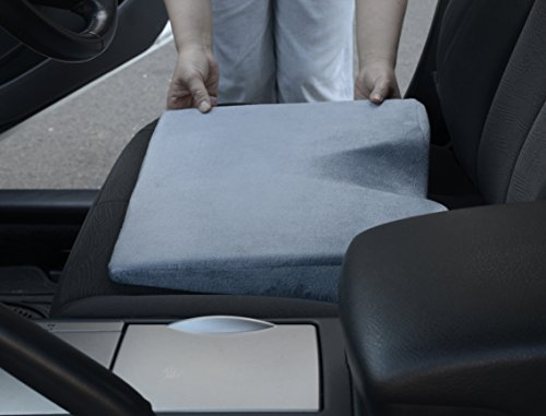 Peachy Car Seat Cushion With Therapeutic Designed Car Wedge Cushion Ibusinesslaw Wood Chair Design Ideas Ibusinesslaworg