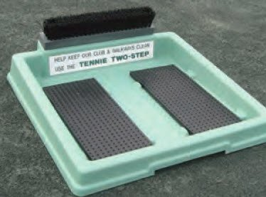 Har-Tru Tennis, Bocce, Golf Court Accessories - Shoe Cleaners - Tennis Two-Step WITH BRUSH