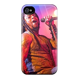 Best Hard Cell-phone Case For Iphone 4/4s (BMZ11833DYeh) Customized Nice Coal Chamber Band Image
