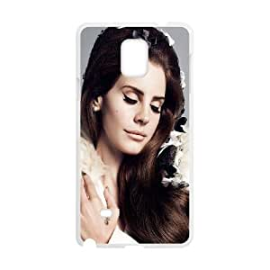 Lana Del Ray Samsung Galaxy Note 4 Cell Phone Case White IGB
