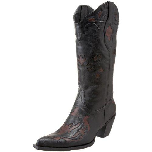 Black Roper II Rockstar Women's Boot Western wXaHZUq