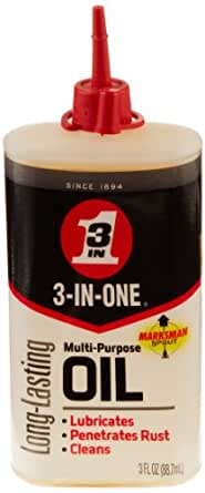 3-IN-ONE 10035 Multi-Purpose Oil, 3 oz. (Pack of 1)