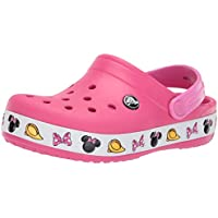 Crocs Kids' Boys and Girls Crocband Disney Minnie Mouse Clog