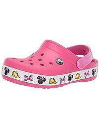 Crocs Baby-Girls Crocband Minnie Clog Clog