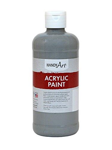Handy Art Student Acrylic Paint 16 ounce, Gray