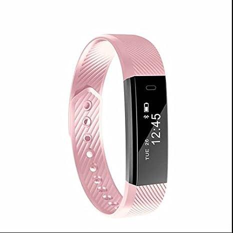 Bluetooth 4.0 Smart Watch Pulsera, podómetro, dormir Monitor, contador de calorías, frecuencia