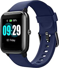 Smart Watch for Android Phones and iPhones, Waterproof Smartwatch Activity Fitness Tracker with Heart Rate Monitor Sleep Tracker Step Counter for Women and Men