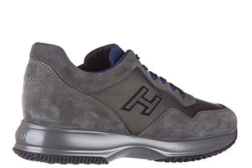 Hogan zapatos zapatillas de deporte hombres en ante nuevo interactive h flock gr