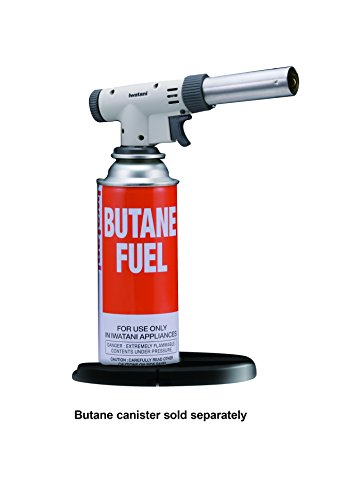 Butane Torch - Iwatani PRO2 Culinary Butane Torch for sous vide, crème brulee, pastries, camping and so much more
