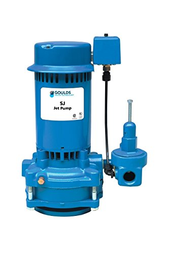 Goulds SJ20 Vertical Deep Water Well Jet Pump, 2 HP, Single Phase, 230 V, 3 (Three Phase Jet Pump)
