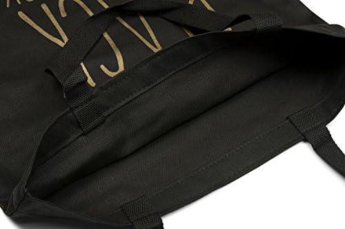 6ea26e644 styleBREAKER bolsa para compras con frase estampada «IF IT'S NOT ...