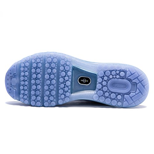 Chaussures Homme Sneakers Course Gym Running Bleu de Fitness Sport ONEMIX Baskets Fw0x5qwz
