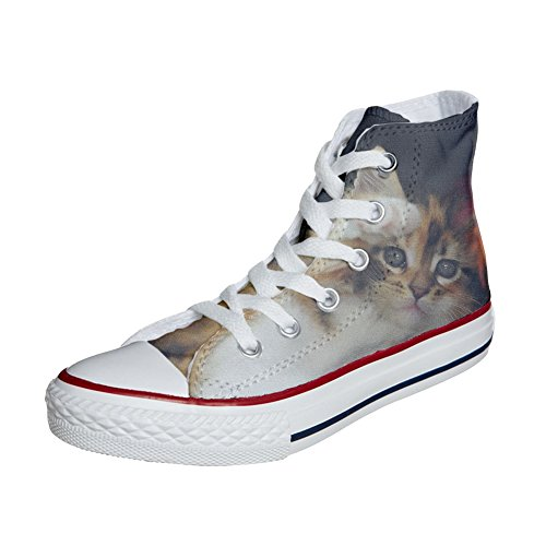 Converse All Star personalisierte Schuhe (Handwerk Produkt) Kitty