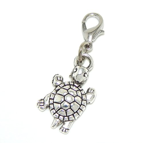 Turtle Shell Charm (Jewelry Monster Clip-on Dangling