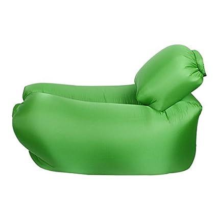 Silla inflable del ocioso con la almohadilla desmontable, silla del sal¨®n del