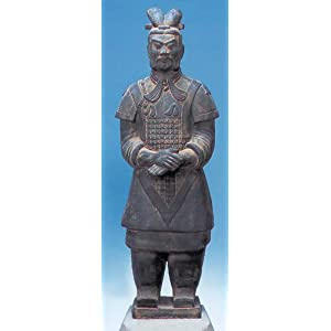 "Terra Cotta General Warrior Statue 20"" Chinese Army"