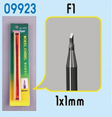 Micro Chisel Tip (Trumpeter Model Chisel F1 Square Tip Model Kit)