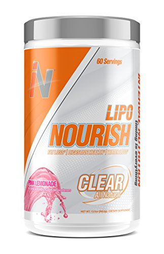Lipo Nourish: All-Natural Bloating Relief Weight Loss Detox Powder to Help Reduce Belly Bloat, Support Digestion and Improve Nutrient Absorption with Digestive Enzymes, Pink Lemonade, 60 Servings Review