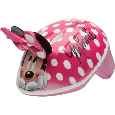 Extra protection Minnie Mouse Toddler 3D Helmet, Pink