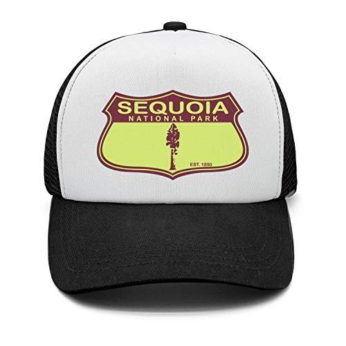 Sequoia National Park Unisex Cotton Fashion Cap Adjustable Mesh Visor Hats